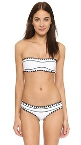 SAME SWIM The Babe Bandeau Bikini Top