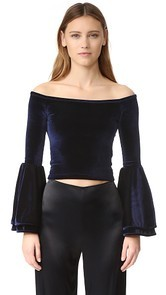 Torn by Ronny Kobo Mimi Crop Top