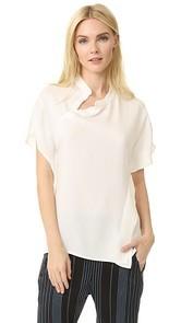 Zero + Maria Cornejo Twisted Shirt
