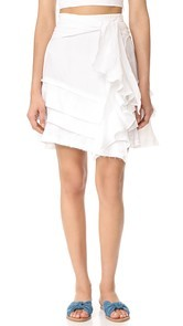 McGuire Denim Lupolo Ruffle Skirt
