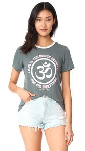 Spiritual Gangster Love Is the Bridge Zen Tee