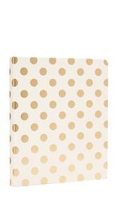 Kate Spade New York Gold Pavilion Spiral Notebook