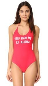 Spiritual Gangster You had Me at Aloha Retreat One Piece