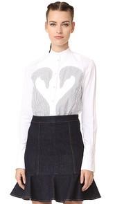 Victoria Victoria Beckham Applique Shirt