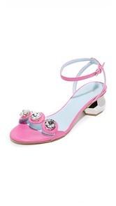 Frances Valentine Beatrix Jeweled City Sandals