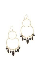 Gorjana Eliza Gemstone Chandelier Earrings