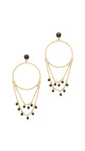 Gorjana Sol Drape Hoop Earrings