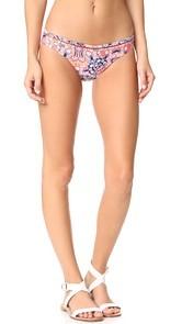Red Carter Positano Hipster Bikini Bottoms