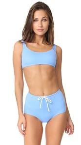Solid & Striped x STAUD Gia Bikini Top
