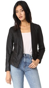 cupcakes and cashmere Deva Leather Jacket