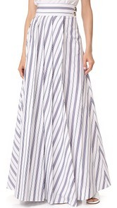 A.W.A.K.E. Long Pleat Skirt Awake