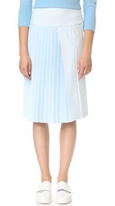 Adam Lippes Pleat Front Skirt