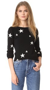 Chinti and Parker Cashmere Star Sweater
