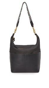 Clare V. Sophie Canvas Hobo Bag