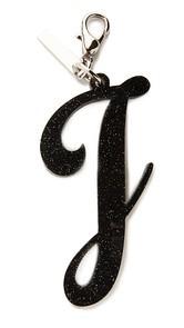 Edie Parker Alphabet Keychain