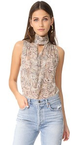 Haute Hippie Out Of Touch Blouse