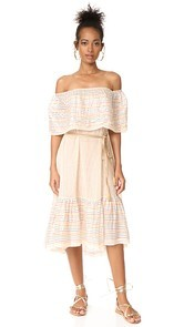 Miguelina Amaya Off Shoulder Dress