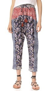 Sea Mix Print Pants