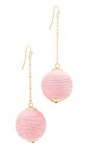 Shashi Matilda Chain Drop Earrings