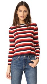 Whistles Multi Stripe Sweater