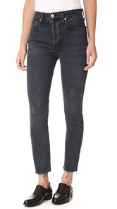 RE/DONE x Levis High Rise Ankle Crop Jeans