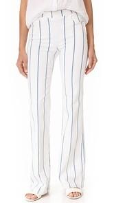 FRAME High Flare Side Zip Pants