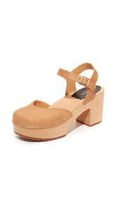 Swedish Hasbeens Krillan Platform Sandals