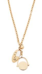 Madewell Oversized Charm Lariat Necklace