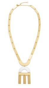 Madewell Flat Statement Necklace