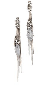 Theia Jewelry Gaia Earrings with Gypsum Crystals