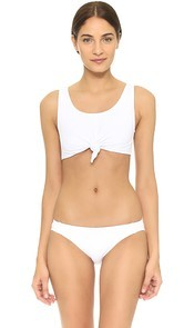 Beth Richards Knot Top Bikini Top