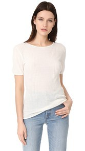 Jenni Kayne Mix Rib T-Shirt