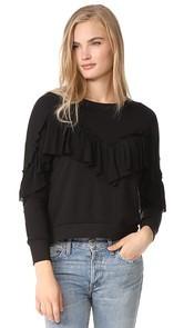 LIV Empire Ruffle Sweatshirt