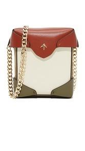 MANU Atelier Micro Pristine Chain Box Bag