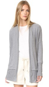 Three Dots Brushed Cardigan