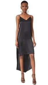 ThePerfext High-Low Silk Dress