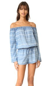 Bella Dahl Off Shoulder Romper