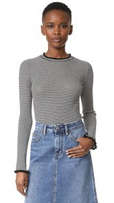 Edition10 Metallic Stripped Sweater