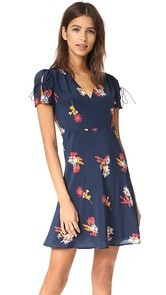 Madewell Angelina Dress in Cactus Floral
