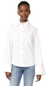 Marques Almeida Princess Line Classic Shirt