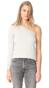 Pam & Gela One Sleeve Sweatshirt