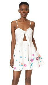 6 Shore Road by Pooja Boathouse Embroidered Dress