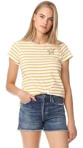 SUNDRY Mini Star Short Sleeve Tee