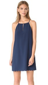 Cooper & Ella Elena Scallop Dress