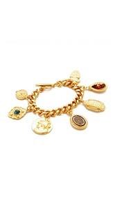 Ben-Amun 7 Pendant Chain Bracelet