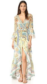 Camilla Sign of Peace Wrap Dress