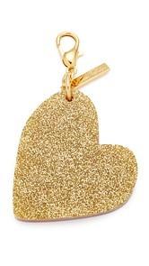 Edie Parker Heart Keychain