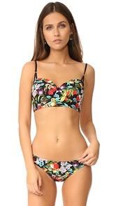 Nanette Lepore Amor Atitlan Coquette Bikini Top