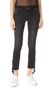 One Teaspoon Paris Tie Side Freebird II Jeans
