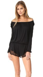 Only Hearts Poet Romper